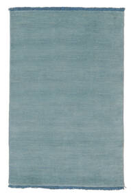 Handloom fringes - Lys blå teppe CVD5432