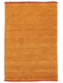 Handloom Fringes - Orange Tapis 80X120 Moderne Orange (Laine, Inde)