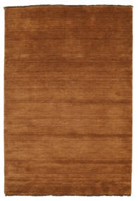 Handloom Fringes - Brown Rug 140X200 Modern Brown (Wool, India)