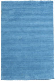 Handloom fringes - Light Blue carpet CVD5430