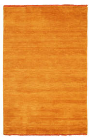 Handloom fringes - Orange carpet CVD5337