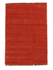 Handloom Fringes - Rouille/Rouge Tapis 140X200 Moderne Orange/Rouille/Rouge (Laine, Inde)