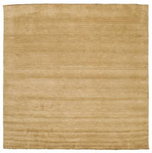 Handloom Fringes - Beige Rug 300X300 Modern Square Light Brown Large (Wool, India)