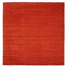 Handloom fringes - Rust / Red rug CVD5396