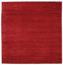 Handloom fringes - Mörkröd matta CVD5252