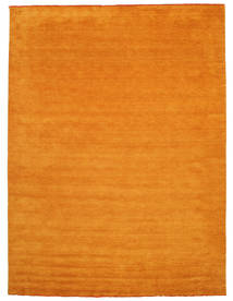 Handloom Fringes - Oranssi Matto 300X400 Moderni Oranssi Isot (Villa, Intia)