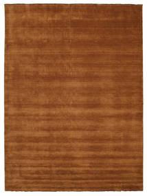 Handloom Fringes - Brown Rug 300X400 Modern Brown/Dark Red Large (Wool, India)