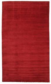 Tapis Handloom fringes - Rouge foncé CVD5243