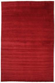 ハンドルーム fringes - 深紅色の 絨毯 CVD5241