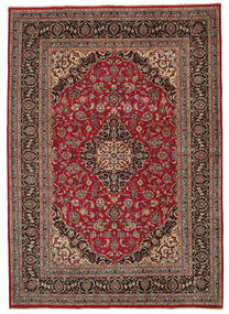 Kashmar Patina Rug 240X338 Authentic  Oriental Handknotted Brown/Dark Grey (Wool, Persia/Iran)