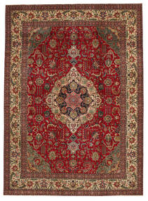 Tabriz Patina Rug 304X417 Authentic  Oriental Handknotted Dark Red/Dark Brown Large (Wool, Persia/Iran)