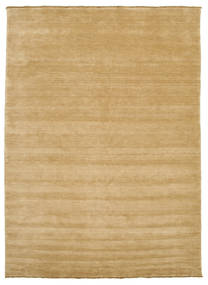 Handloom Fringes - Beige Rug 250X350 Modern Dark Beige/Light Brown Large (Wool, India)