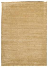 Handloom Fringes - Beige Rug 220X320 Modern Light Brown (Wool, India)