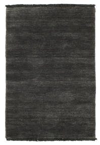 Handloom fringes - Black / Grey rug CVD5483