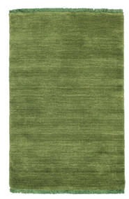 Tappeto Handloom fringes - Verde CVD5291