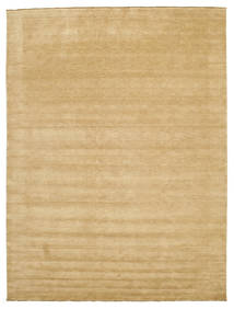 Handloom Fringes - Beige Rug 300X400 Modern Light Brown/Dark Beige Large (Wool, India)