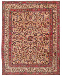 Mashad Patina Signed: Amoghli Rug 287X370 Authentic Oriental Handknotted Brown/Light Brown Large (Wool, Persia/Iran)