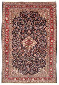 Hamadan Shahrbaf Teppich  216X320 Echter Orientalischer Handgeknüpfter Braun/Lila (Wolle, Persien/Iran)