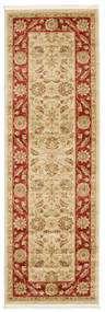 Ziegler Fumanat Rug 80X250 Oriental Hallway Runner  Light Brown/Dark Beige ( Turkey)