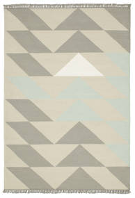 Way - Turqoise Rug 140X200 Authentic  Modern Handwoven Dark Beige/Light Grey (Wool, India)