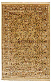 Tapis Kerman Diba - Marron clair / Beige RVD7111