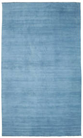 Tapis Handloom fringes - Bleu clair CVD5417