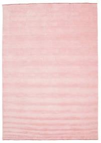 Tappeto Handloom fringes - Rosa CVD5300