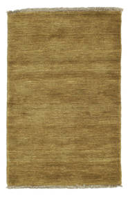 Handloom fringes - Olive Green carpet CVD5359