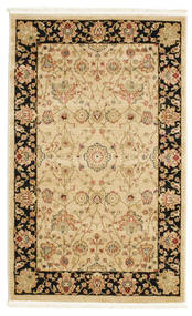 Farahan Ziegler - Beige Rug 100X160 Oriental Light Brown/Dark Beige ( Turkey)