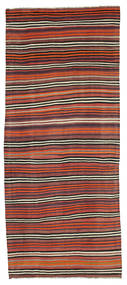 Kilim semi antique Turkish carpet XCGH1309