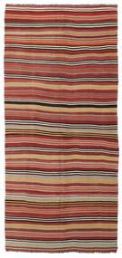 Kelim Halvt Antikke Tyrkiske Teppe 167X370 Ekte Orientalsk Håndvevd Teppeløpere Rust/Orange (Ull, Tyrkia)