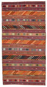Kilim semi antique Turkish carpet XCGH1347