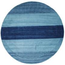 ギャッベ インド Stripe - 青 絨毯 CVD6044