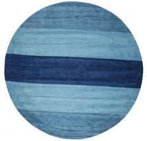 ギャッベ インド Stripe - 青 絨毯 CVD6048