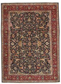 Hamadan Patina Teppich  248X335 Echter Orientalischer Handgeknüpfter Hellbraun/Dunkelgrün (Wolle, Persien/Iran)