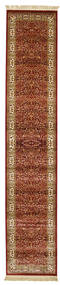Kerman Diba - Red Rug 80X400 Modern Hallway Runner  Light Brown/Dark Brown ( Turkey)