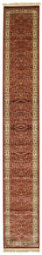 Kerman Diba - Red Rug 80X500 Modern Hallway Runner  Light Brown/Dark Red ( Turkey)
