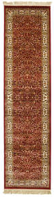 Kerman Diba - Red Rug 80X300 Modern Hallway Runner  Dark Brown/Light Brown ( Turkey)
