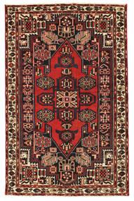 Saveh Patina Matto 135X210 Itämainen Käsinsolmittu Tummanruskea/Ruoste (Villa, Persia/Iran)