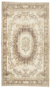 Colored Vintage Rug 170X292 Authentic  Modern Handknotted Beige/Light Grey (Wool, Turkey)