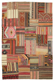 Kilim Patchwork carpet XCGN825