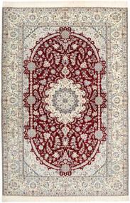 Nain 6La Habibian Vloerkleed 160X237 Echt Oosters Handgeknoopt Beige/Lichtgrijs (Wol/Zijde, Perzië/Iran)