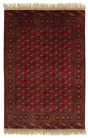 Bokhara/Yamut Rug 202X297 Authentic  Oriental Handknotted Dark Red/Dark Brown (Wool, Turkmenistan/Russia)