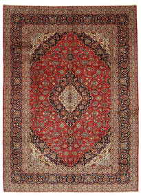 Mashad Rug 300X415 Authentic  Oriental Handknotted Dark Red/Dark Brown Large (Wool, Persia/Iran)