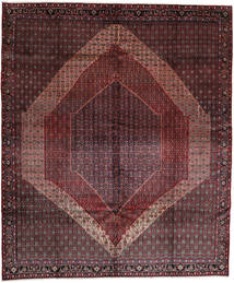 Senneh Rug 326X389 Authentic Oriental Handknotted Dark Red/Brown Large (Wool, Persia/Iran)