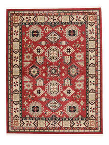 Shirvan Kazak Rug 200X250 Modern Dark Red/Dark Brown ( Turkey)