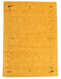 Gabbeh Loom Frame - Gul Teppe 160X230 Moderne Orange (Ull, India)