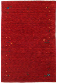 Gabbeh Loom Frame - Red Rug 120X180 Modern Crimson Red/Dark Red (Wool, India)