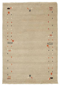 Gabbeh Loom Frame - Tummanbeige-matto CVD5911