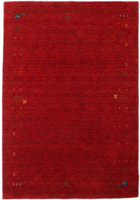Gabbeh Loom Frame - Red Rug 140X200 Modern Dark Red/Crimson Red (Wool, India)